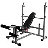 Olympic Weight Bench with Leg Curl Attachment