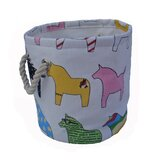 One Piece Small Round Pony Soft Storage