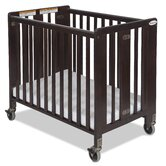 Hideaway Full Sized Folding Crib in Antique Cherry
