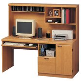 Computer Workcenter with Hutch