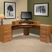 Office Adaptations L-Shape Desk Office Suite