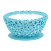 Wrap Protective Bowl Cover with Suction Cup Base in Blue Raspberry