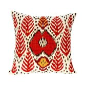 Bali Ikat Tapestry Cotton Twill Pillow
