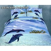 Swim With Dolphins Bedding Set