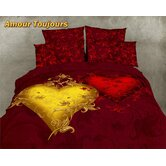 Amour Toujours Egyptian Cotton Duvet Cover Set