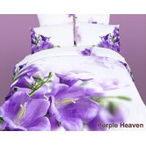 Dolce Mela Purple Heaven Duvet Cover Set