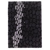 Timeless Serpent Black/Silver Rug