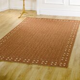 Florence Trinity Rust Contemporary Rug/Runner