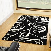 Decotex Allegro Black/White Rug