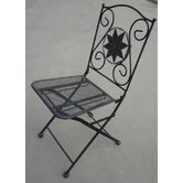 Rimini Mosaic Folding Chair