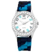 Women's Colors Galore Watch in Multi with White Dial