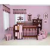 Maya Four Piece Crib Bedding Set