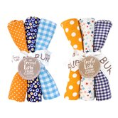 6 Piece Dreamsicle Burp Cloth Set