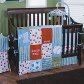 3 Piece Little MVP Crib Bedding Set