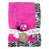 Zahara Zebra Framed Receiving Blanket