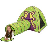 Butterfly Play Tent and Tunnel Combination