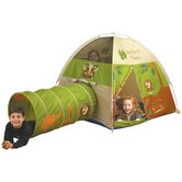 Jungle Safari Play Tent and Tunnel Combination