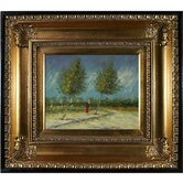 on the Outskirts of Paris Canvas Art by Vincent Van Gogh Impressionism