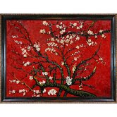 Branches of an Almond Tree in Blossom Canvas Art by Vincent Van Gogh Impressionism