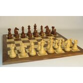 Sheesham Mustang on Walnut Chess Board