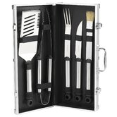 B.B.Q. Primary Stainless Grill Tools Set