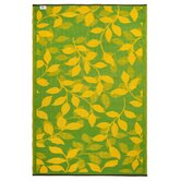 World Bali Lemon Yellow/Moss Green Rug