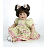 Baby Doll &quot;Flowers For A Friend&quot; Brown Hair / Brown Eyes