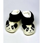 "20"" Doll Shoe Boot  Panda Fun in White"