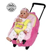 Adora Playtime Rolling on Wheels  Backpack for 13&quot; PlayTime Baby Dolls