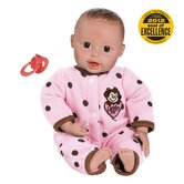 "Adora ""Giggle Time Baby Girl"" Doll with Light Skin Tone/Brown Hair/Brown Eyes"
