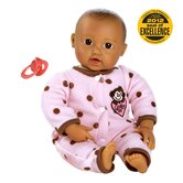 Adora &quot;Giggle Time Baby&quot; Doll with Med Skin Tone/Brown Hair/Brown Eyes