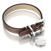 Saffiano / Hand Made Leather Dog Collar
