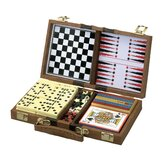 6-in-1 Wood Game Box
