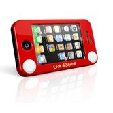 Etch A Sketch Hard Case in Red for iPhone 4