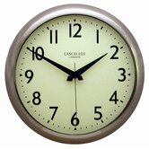 Deco Wall Clock With Sweep Seconds Hand