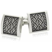 Austrian Urban Herringbone Cufflinks