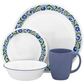Livingware Serenity 16 Piece Dinnerware Set