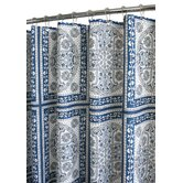 Prints Polyester Medallion Tiles Shower Curtain