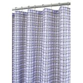 Urban Tiles Shower Curtain in Purple