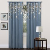 Flower Drop Window Curtain