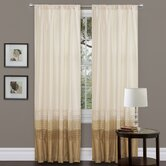 Mia Rod Pocket Curtain Panel (Set of 2)
