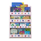 The Tidy Books Childrens Bookcase  (Pink Lowercase)