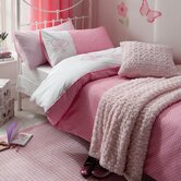 Flutterbye in New Year Duvet Cover Set in Pink
