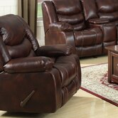 Rampart Polished Chaise  Recliner