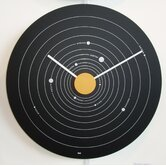 Solar System Expos&eacute; Modern Wall Clock