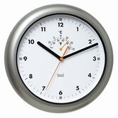 Aquamaster Weatherproof Wall Clock in Gunmetal