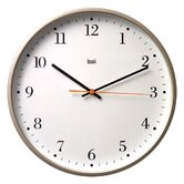 Jumbo Wall Clock in Bodoni Titanium