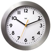 Landmark Brushed Aluminum Wall Clock