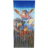 Large Turtle Scene Curtain