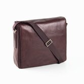 Tuscan Square Messenger Bag in Café